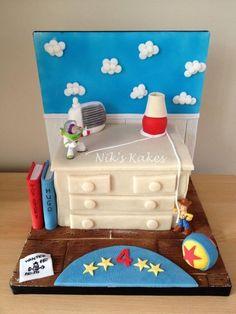 Toy Story Cake  Cake by Nikskakes