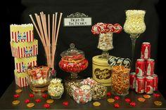 Full Movie Night Candy Buffet