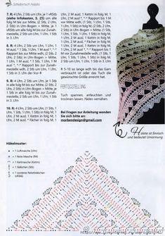 Crochet Knitting Handicraft: Crochet shawl
