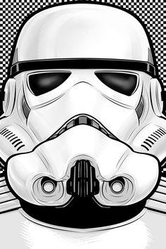 Storm Trooper l Star Wars Star Wars Poster, Star Wars Art, Star Trek, Images Star Wars, Star Wars Pictures, Bd Art, Cuadros Star Wars, Star Wars Wallpaper, Clone Trooper