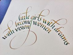 Fruto curso italica, Esther Gordo - note the calligraphy on curve; descender intersecting lines.