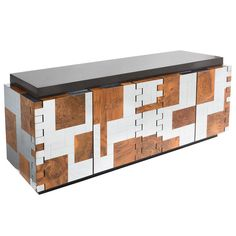 Stunning Paul Evans Cityscape Sideboard, USA circa 1970   From a unique collection of antique and modern sideboards at https://www.1stdibs.com/furniture/storage-case-pieces/sideboards/