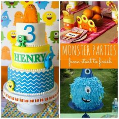 How to Throw a Monster Party from Start to Finish #monster #party