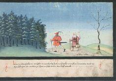 Kreuzwunder 1503 aus dem Augsburger Wunderzeichenbuch Folio 90