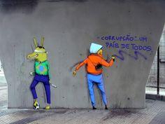 Street Artists: OS GEMEOS