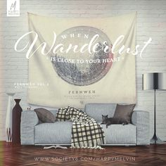 The Fernweh Vol.2 as #walltapestry at Society6  Get yours here  #walldecor #wanderlust #art