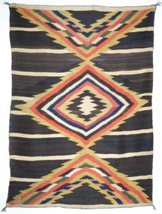 Navajo Moki textile, circa 1875