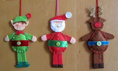 elf, santa, rudolf