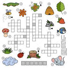 """Képtalálat a következőre: """"keresztrejtvény gyerekeknek nyomtatható"""" Leaf Flowers, Ladybug, Activities For Kids, Diagram, Google, Animals, Peek A Boos, Word Puzzles, Wordsearch For Kids"""