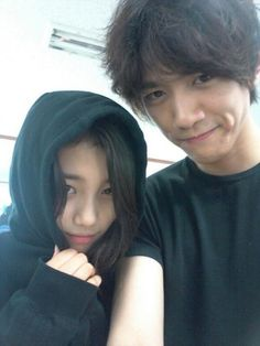 Suzy and Sung Joon