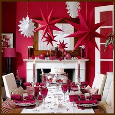Идеи украшения потолка на Новый год