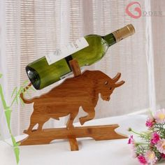 Base de vino de bambú