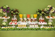 Learn how to set up a buffet table / food station for parties, weddings, or entertaining at home—with food presentation, display, and styling tips by a professional party planner. Wedding Food Bars, Wedding Desserts, Wedding Ideas, Wedding Blog, Wedding Table, Wedding Catering, Wedding Menu, Wedding Trends, Wedding Buffets