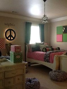 Alli & Sabrina's Room #2  / Teen Girls Bedroom