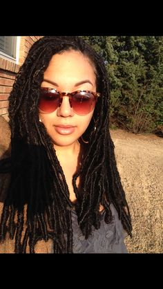 Natural hair / Protective styling / Faux Locs / Loc Extensions / Dreadlocs / FroSoSick