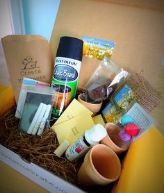 Kreation Krate comes with a project idea, all of the needed supplies, and a big warm-fuzzy. Why? There's a bonus craft kit in every box that you are encouraged to make and then give to others, either as a random act of kindness or straight to a charity organization. #DIY #Crafts #Retail