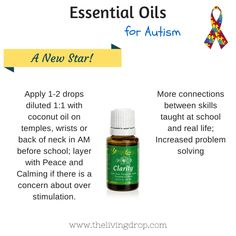 Clarity for autism! https://www.youngliving.com/signup/?site=US&sponsorid=1916351&enrollerid=1916351