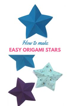 Learn how to fold a quick and simple origami paper star. If you're looking for an easy, inexpensive paper star decoration for a Christmas or New Year's Eve party, then this is the craft for you tutorial Origami Rose, Diy Origami, Easy Origami Star, Origami Simple, Easy Origami For Kids, Cute Origami, Useful Origami, Origami Tutorial, Origami Flowers