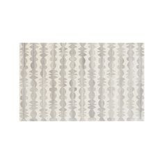 Inspired by Welsh culture and craft, designer Bethan Gray lines plush wool rug in a spindle motif that feels both graphic and elegant.  Shades of undyed, handtufted wool creates a tonal look in a beautiful neutral palette to compliment any room. Note: Some sizes of this rug are not available forday-of-purchase pickup at our Stores. A store associate can arrange a convenient pickup or delivery date.