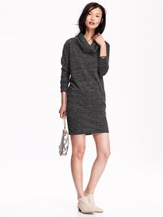 Cowl-Neck Sweater Dress | Old Navy