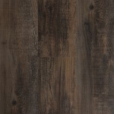 Style Selections 6-in x 36-in Antique Woodland Oak/Drk Brown Peel-And-Stick Rustic Residential Vinyl Plank