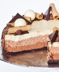 Triple Chocolate Cheesecake - Tatyanas Everyday Food