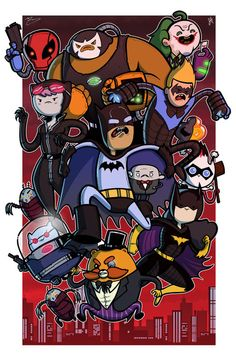 Arkham Warriors! Bravest Warriors and the Batman Universe Cross Over!