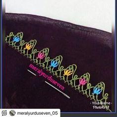 @meralyurduseven_05 (@make_repost) ・・・ Arkadaslar sizler icin yeni ve citir citir bir model cikartip buraya birakiyorum Simple Eyeshadow Tutorial, Tatting, Knit Shoes, Simple Eye Makeup, Sunflower Tattoo Design, Needle Lace, Homemade Beauty Products, Sweater Design, Knitted Shawls
