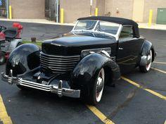 A Cord. My favorite classic car.