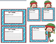 Run Teacher Run!: Elf on the Shelf Door Decorating Idea and Freebie!