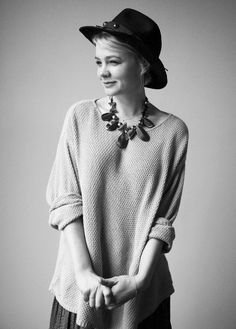 Carey Mulligan (black and white) http://CareyMulligan.org
