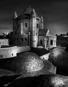 Dormition Church (Jean-Michel Berts captures the Light of Jerusalem)