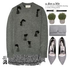 """Not-at-all-boring-grey"" by mihreta-m ❤ liked on Polyvore featuring 3.1 Phillip Lim, Vince, Ole Mathiesen, women's clothing, women's fashion, women, female, woman, misses and juniors"