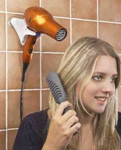 Hair Dryers - Hair Dryers ideas Hands Free Hair Dryer Holder Compact For Home And Travel! - Hands Free Hair Dryer Holder Compact For Home And Travel! Dryer Stand, Hair Dryer Holder, Adaptive Equipment, Dental Office Design, Aging In Place, Dental Assistant, Occupational Therapy, Ot Therapy, Vision Therapy