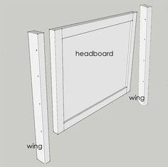 Home Dzine Diy Wingback Headboard