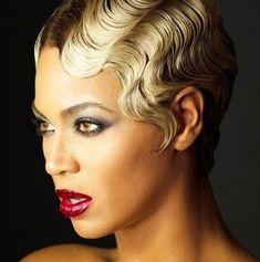 Soft Finger Waves // Beyonce