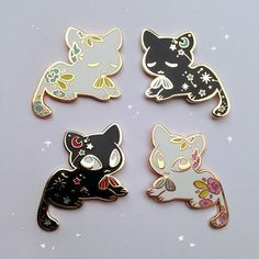 Attractive Disney Cats Cute Pin Badges Enameled (official Pin Trading)  Https://www.instagram.com/ebpins/ | Disney/ Studio Ghibli | Pinterest |  Disney Cats, Badges And ...