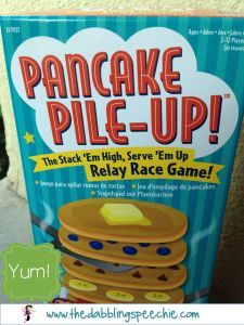Fun game for preschool kiddos!