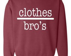 Clothes over Bros One Tree Hill Crew Neck by OceanBreezeCustomTee