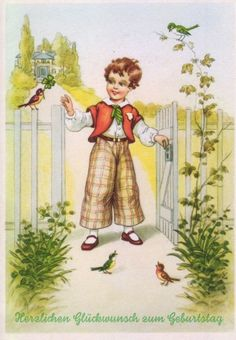 Старые немецкие открытки: olga_i_olga