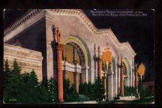 1915 Machinery Palace Illuminated PPIE Exposition s F California Postcard   eBay