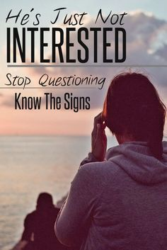 Signs He's Just Not Interested In You | How To Tell If A Guy Is Interested In You | Signs You Need To Move On | Dating Tips | Relationship Tips | theMRSingLink