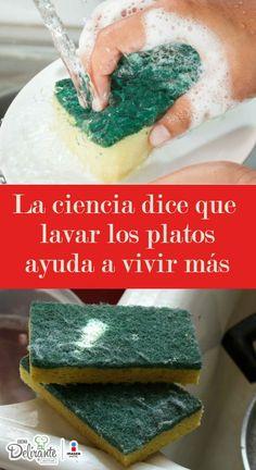 ¡Increíble! Lavar los platos puede cambiar tu vida.