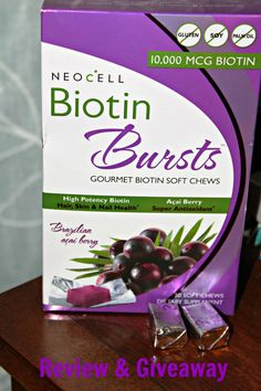 Biotin Bursts Review & Giveaway - My Imperfect Family