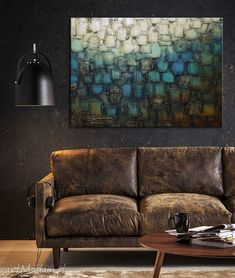 obraz abstrakcyjny - art and texture Painting Canvas, Couch, Texture, Furniture, Home Decor, Surface Finish, Settee, Decoration Home, Sofa