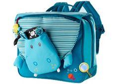 Nilpferd 'Arnold' Kindergartentasche von Lilliputiens
