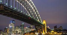 sydney harbour bridge australia 4k ultra hd wallpaper