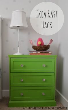 I love a good Rast Hack.  I think there's a little missed opportunity here though - a stained top would've been the bomb.