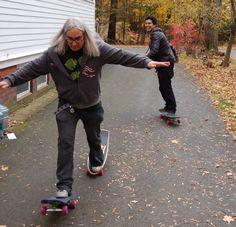 J Mascis and Omar Salazar