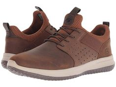 Skechers Delson - Axton New Shoes, Men's Shoes, Shoe Boots, Best Shoes For Men, Mens Boots Fashion, Casual Shoes, High Top Sneakers, Leather, Easy Entry